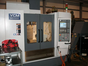 4 Axis YCM Machining Centre